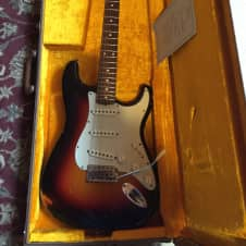 "Fender 1960 RI Relic ""Cunetto"" 1996 3 Color Sunburst image"