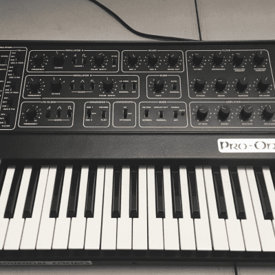 Sequential Circuits Pro One - Full Serviced - Analog Keyboard Synthesizer