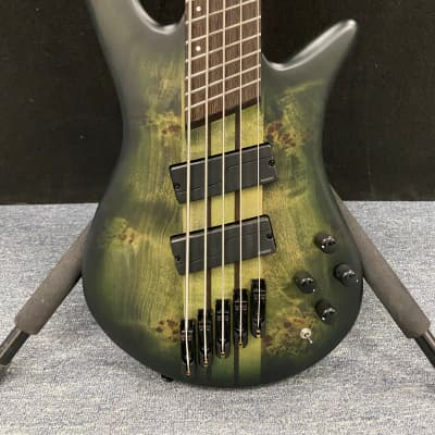 Spector NS Dimension 5  Multi-scale Bass Haunted Moss Matte. Fishman Fluence pickups. New!