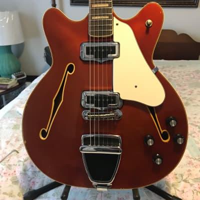 Fender Coronado II with Rosewood Fretboard 1967 Candy Apple Red