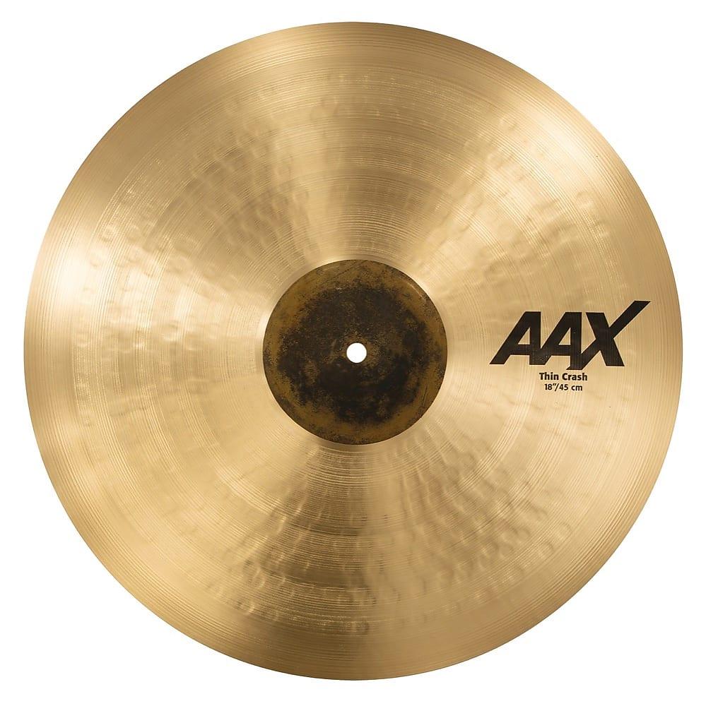 sabian 18 aax thin crash cymbal reverb. Black Bedroom Furniture Sets. Home Design Ideas
