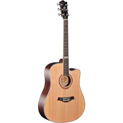 Tagima Guitars America Series Kansas Acoustic Guitar, Natural for sale