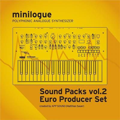 """Korg minilogue/Sound Packs vol.2 """"Euro Producer Set"""""""
