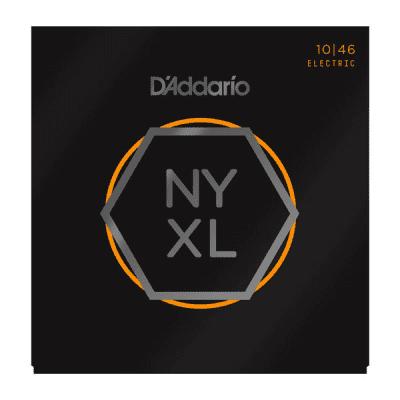 D'Addario NYXL1046-3P Nickel Wound Electric Guitar Strings Regular Light (10-46, 3 Sets)