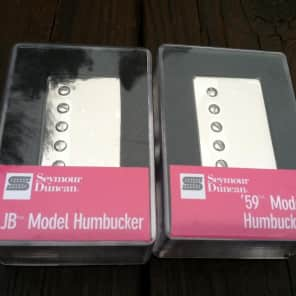 Seymour Duncan SH-4 JB Bridge & SH-1 59 Neck Nickel Humbucker Pickup Set