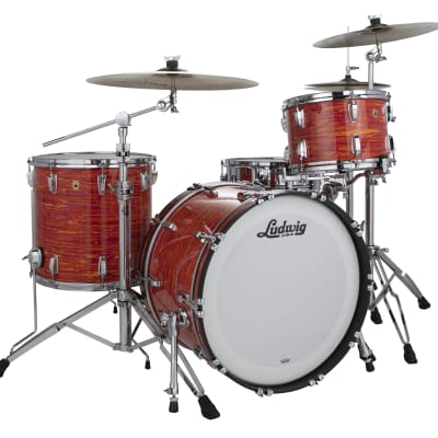 Ludwig Legacy Maple Mod Orange Pro Beat 14x24_9x13_16x16 Special Order Drum Set | Authorized Dealer