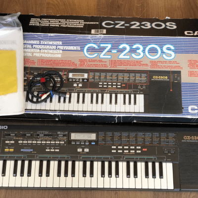Casio Casio CZ230S PD synth boxed, ideal for collector