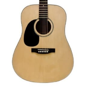 Beaver Creek BCTD101L Left-Handed Dreadnought Acoustic Guitar BCTD101 for sale