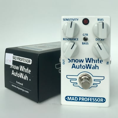 Mad Professor Snow White Auto Wah with Guitar/Bass Switch