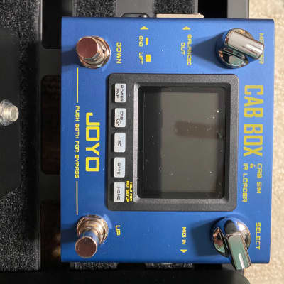 Joyo Cab Box 2020 Blue for sale