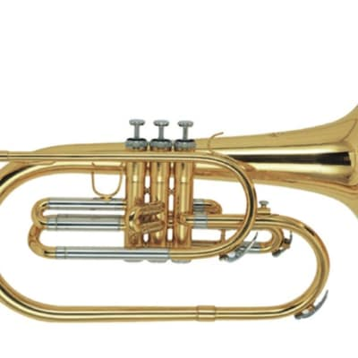 Stagg F Marching Mellophone w/ Case