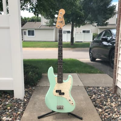 Fender Mark Hoppus Artist Series Surf Green for sale