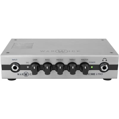 Warwick Gnome I Pro 280W Pocket Bass Amp Head with USB Interface for sale