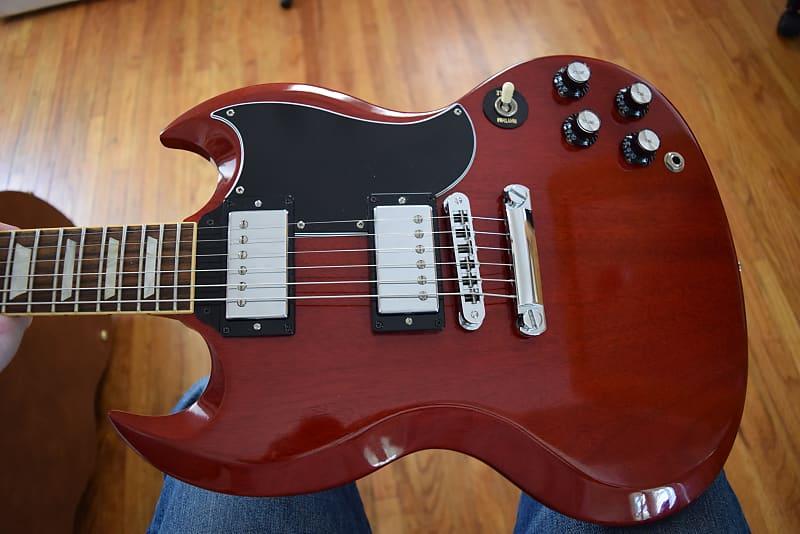 Gibson SG '61 Reissue , Heritage cherry 2010 model , Hard case, Gorgeous