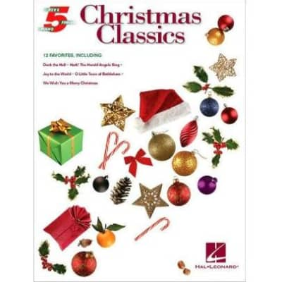 Christmas Classics: 12 Favorites - Five-Finger Piano