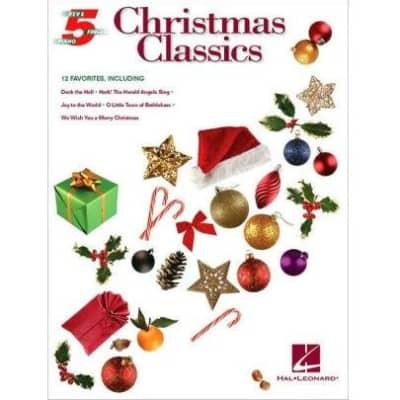 Christmas Classics: 12 Favorites - Five-Finger Piano