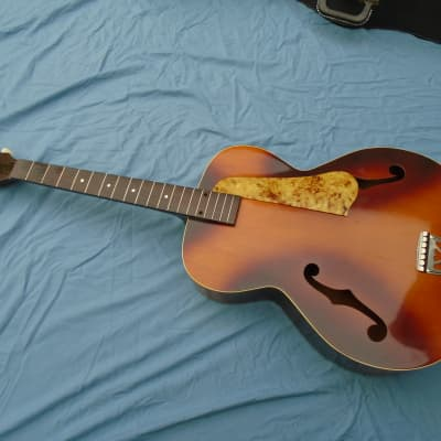 Kamico Archtop Acoustic Guitar 1930-1950 Sunburst by Kay for sale