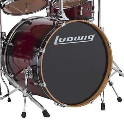 "Ludwig Evolution Maple 18x22"" Bass Drum"