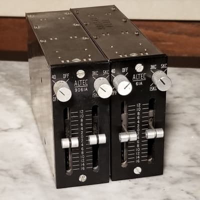 Pair of Altec 9061A Passive Equalizers
