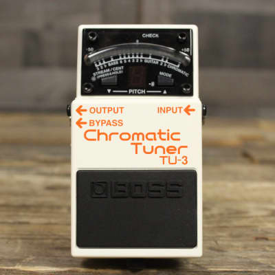 Boss TU-3 Chromatic Tuner Pedal with Bypass for sale