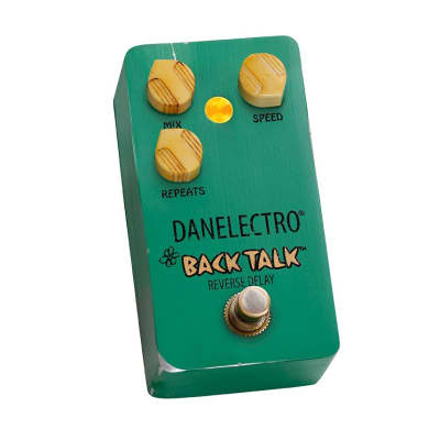 Danelectro Back Talk Delay Pedal Reissue of Reverse Delay Danelectro® made in 1999