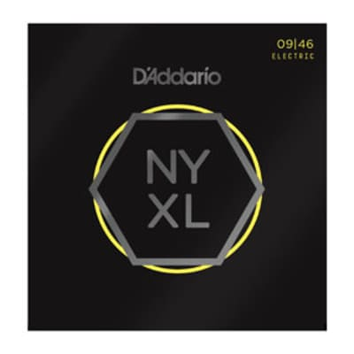 D'Addario NYXL0946 Light Regular Electric Guitar Strings, .009-.046