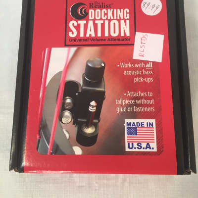 The Realist-Docking Station for Bass-Works with Any Bass Pickup by David Gage!