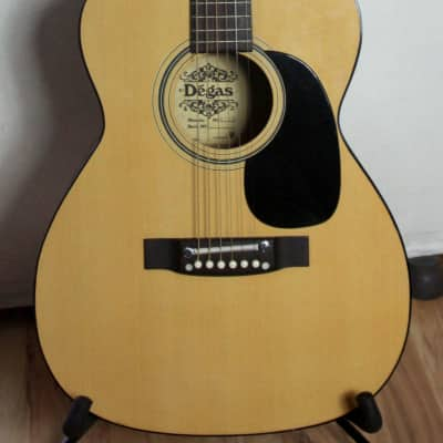 El Degas F170 Concert Acoustic Guitar 1980 for sale