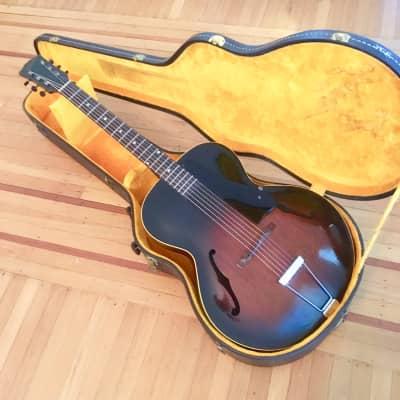 Gibson L-48 c 1950 Sunburst original vintage USA Kalamazoo image