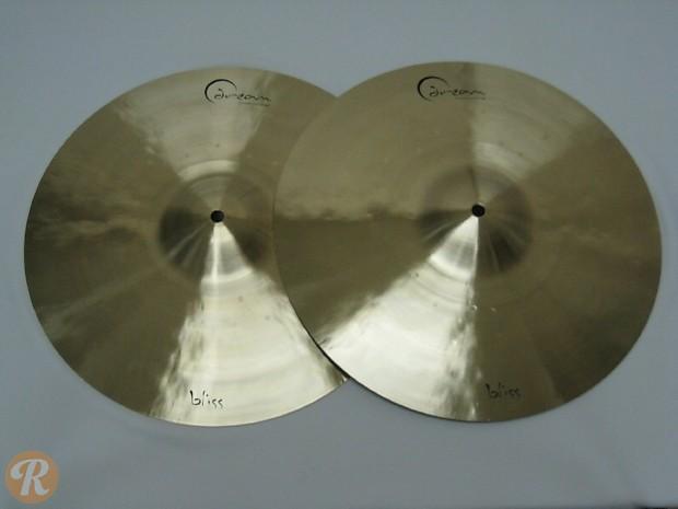 dream cymbals 15 bliss series hi hat cymbals pair reverb. Black Bedroom Furniture Sets. Home Design Ideas
