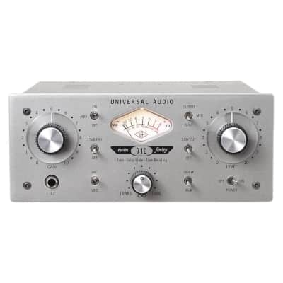 Universal Audio 710 Twin-Finity Tone Blending Mic Preamp