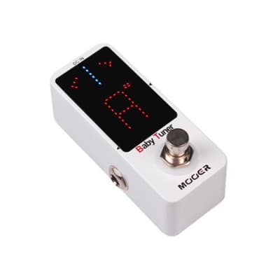 Mooer Baby Tuner Micro Series True Bypass Tuning Pedal