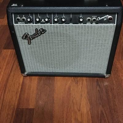 "Fender Champion 30 2-Channel 30-Watt 1x10"" Guitar Practice Amp 1999 - 2002"