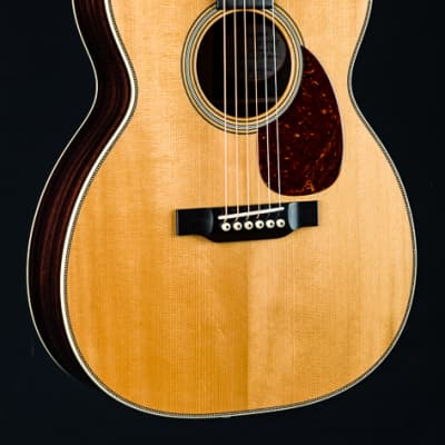 Bourgeois OM Vintage Aged Tone Adirondack Spruce and Indian Rosewood NEW for sale