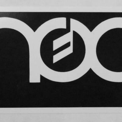 Moog logo sticker  - Minimoog - Polymoog - Sonic Six - Taurus 1