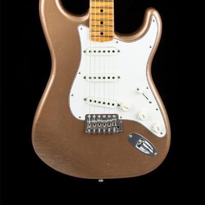 Fender Custom Shop 1965 Stratocaster Journeyman Relic (2019) - Faded Firemist Gold