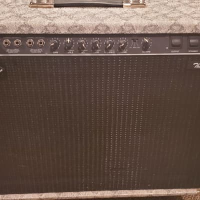"Limited Edition Fender The Twin With SnakeSkin Torex 2-Channel 100-Watt 2x12"" Guitar Combo"