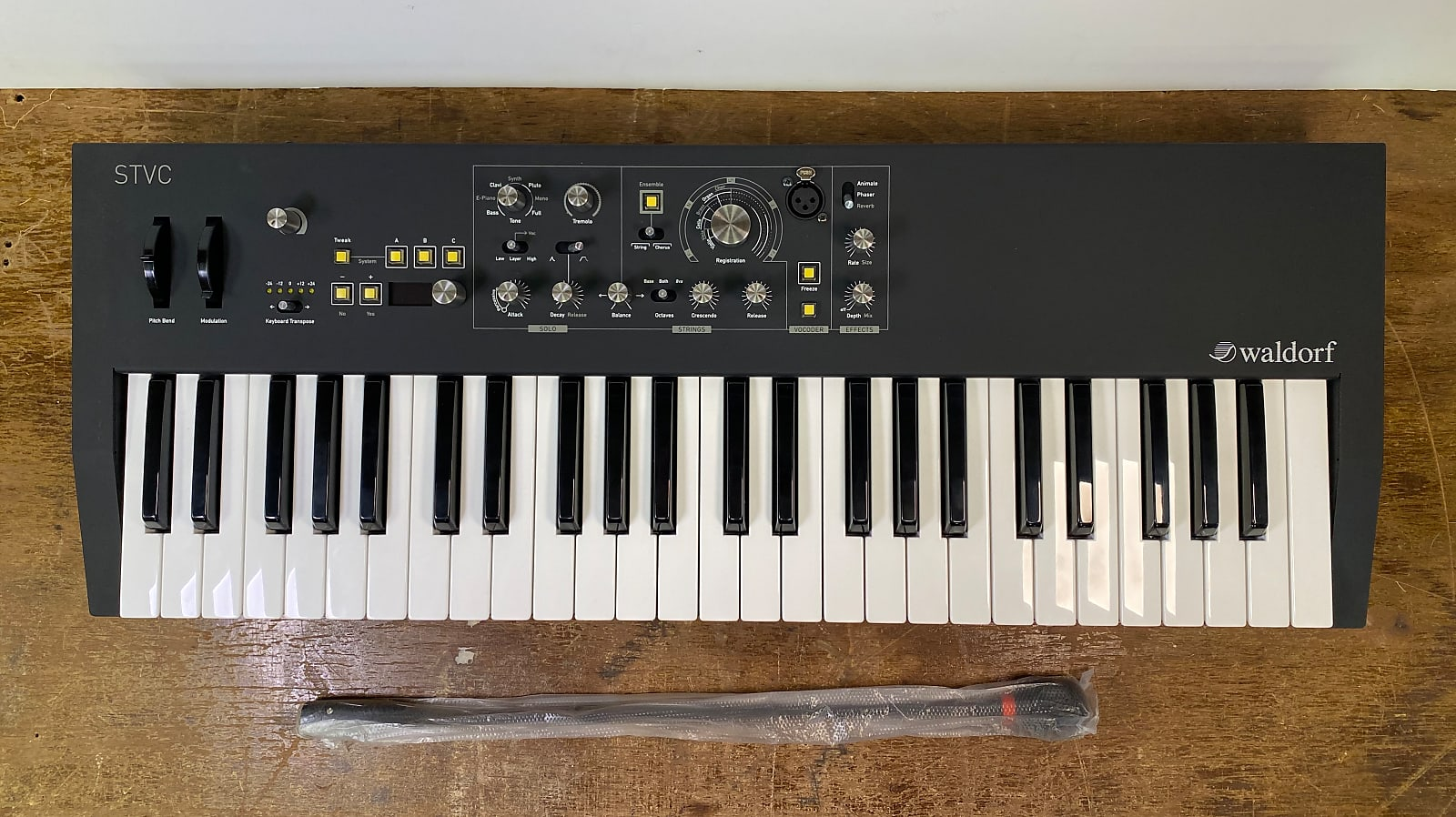 Waldorf STVC String Synthesizer/Vocoder FREE Shipping!