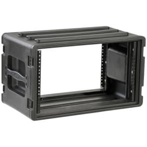 SKB 1SKB-R6S Shallow 6U Roto Rack Case w/ Steel Rails