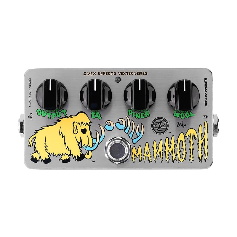 ZVEX Woolly Mammoth Vexter Series Fuzz Effects Pedal