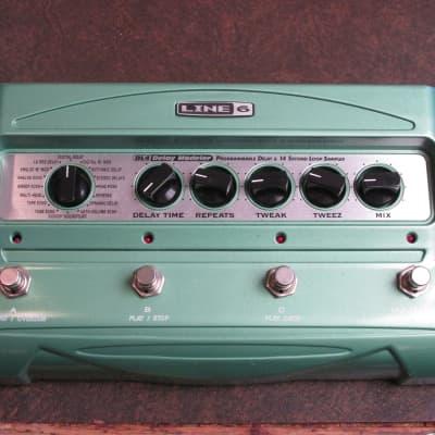Line 6  DL-4 Delay Modeler Green for sale