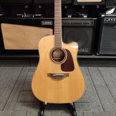 Takamine CP4DC OV Pro Series 4 Dreadnought Cutaway Solid Spruce/Ovangkol Acoustic/Electric Guitar Na for sale