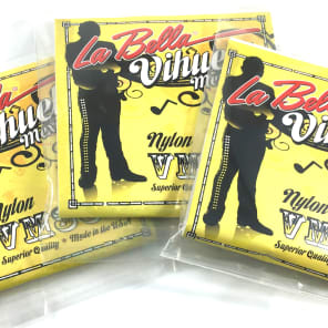 La Bella Vihuela guitar Strings VM300  3 - Packs