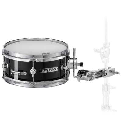 "Pearl SFS10 / C31 10x4.5"" Poplar Short Fuse Snare Drum w/ Mount, Clamp"