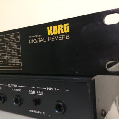 Korg DRV-1000 80s Reverb