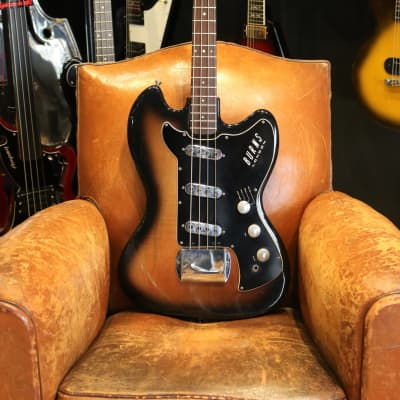 Burns Vista Sonic Bass 1961/62 Sunburst for sale
