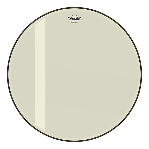 remo 26 powerstroke 3 felt tone bass drum head hazy reverb. Black Bedroom Furniture Sets. Home Design Ideas
