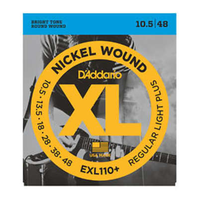 D'Addario EXL110+ Electric Guitar Strings 10.5-48
