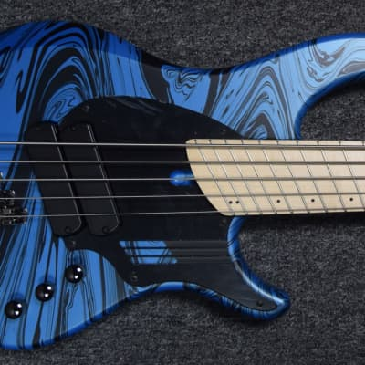Dingwall NG-2 (5) Laguna Blue Swirl with Maple Board *In Stock! for sale