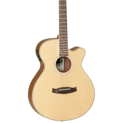 TANGLEWOOD DBT-SFCE-OV DISCOVERY SPRUCE-OVANGKOL ELECTRO-ACOUSTIC GUITAR, NEW for sale